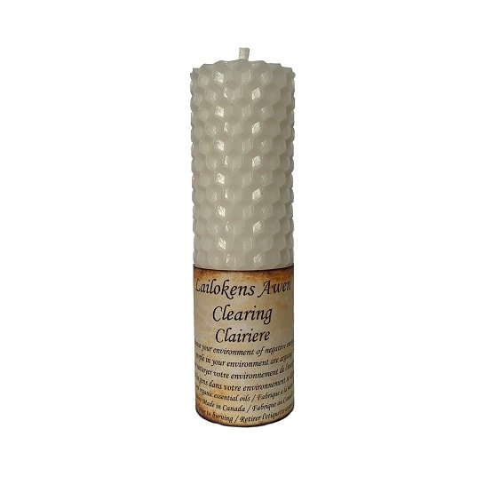 Lailoken candle Clearing
