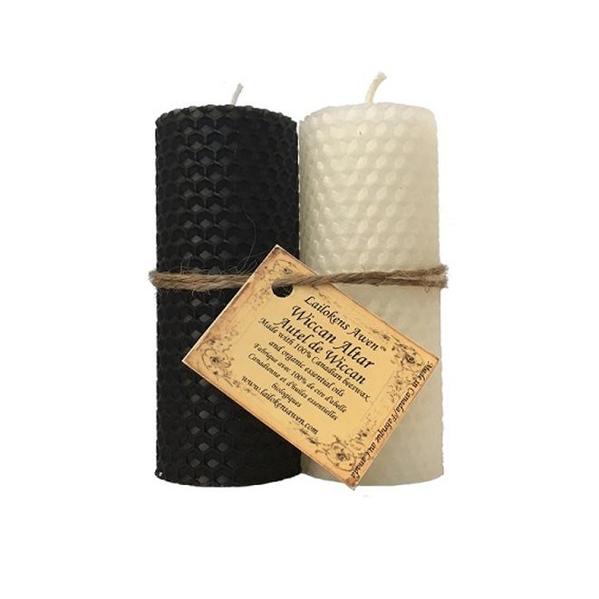 Lailokens candle Wiccan Altar