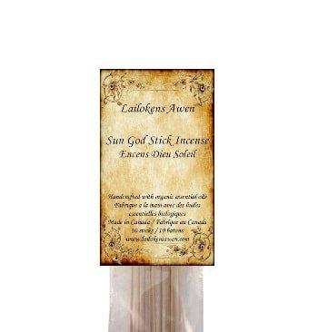 Lailokens incense Sun God