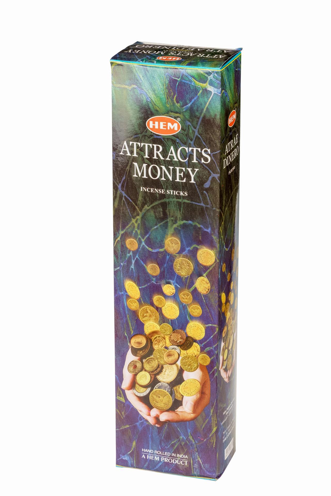 Hem Attracts Money, tall stick