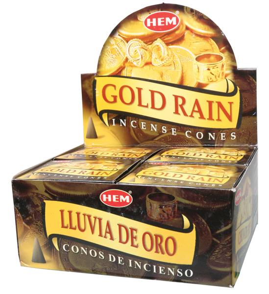 Hem Gold Rain cones