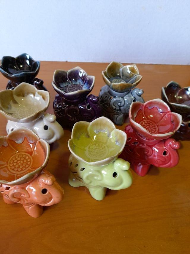 Ceramic Oil burner Eleph 12 cm