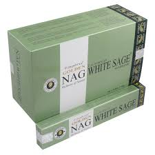 Golden Nag White Sage 15g