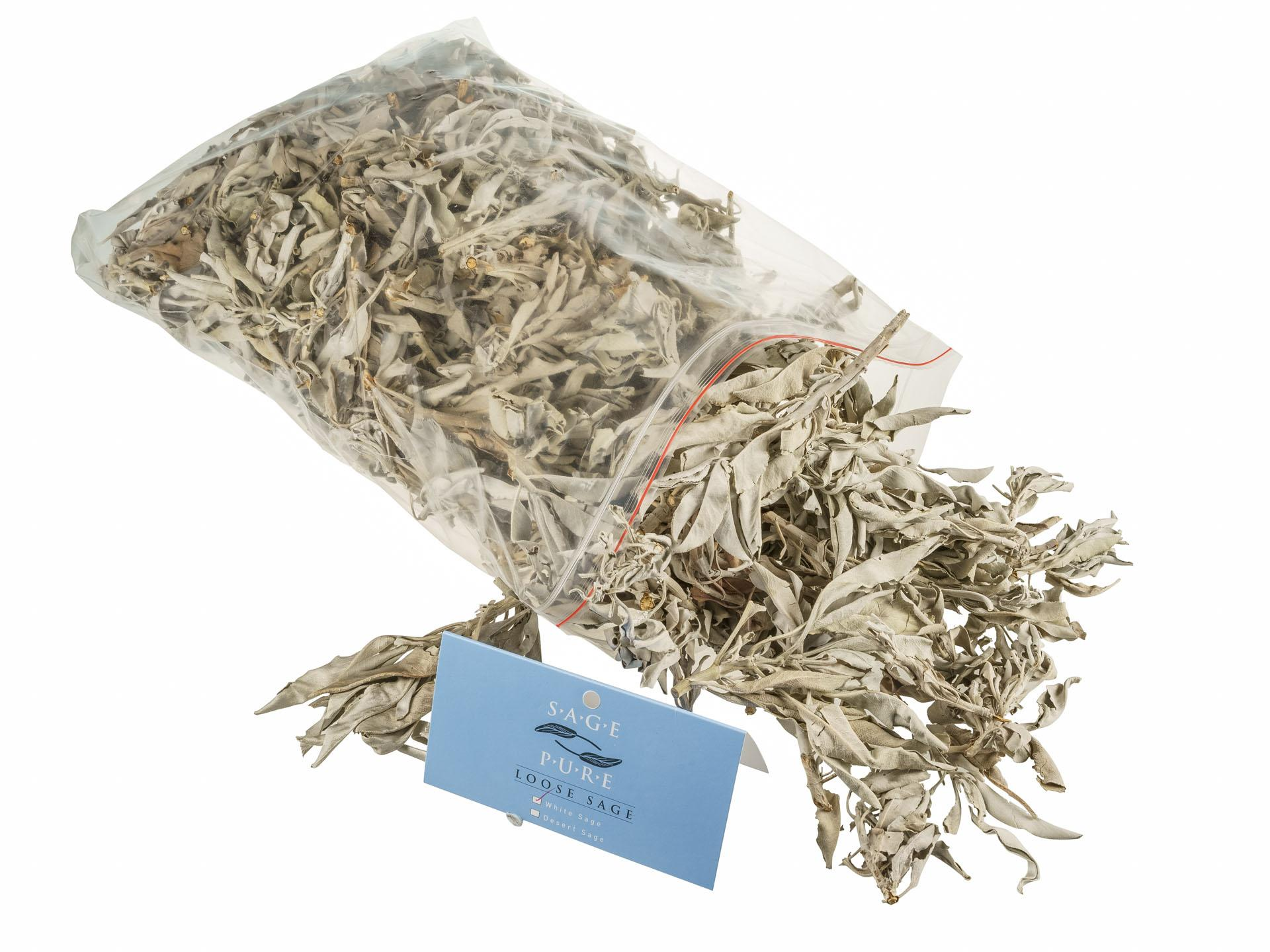 Sage Pure Loose smudge, 500g