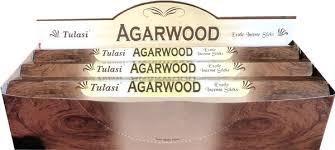 Tulasi Agarwood  6 x 20g