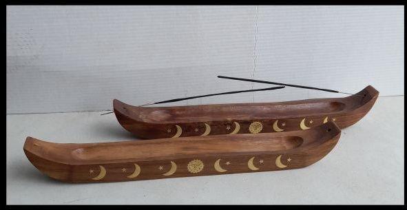 Wooden Ash Catcher, 35cm boat