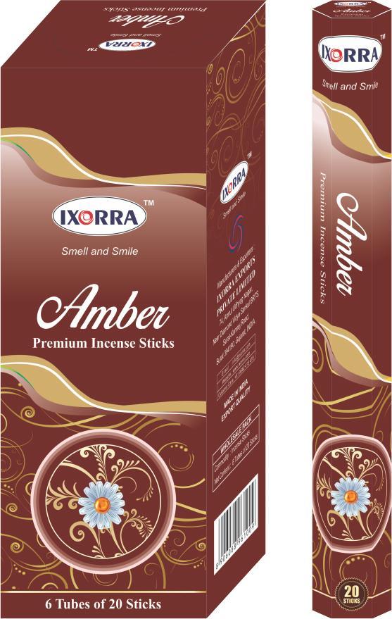 50% Ixorra Amber  hex 6x20g