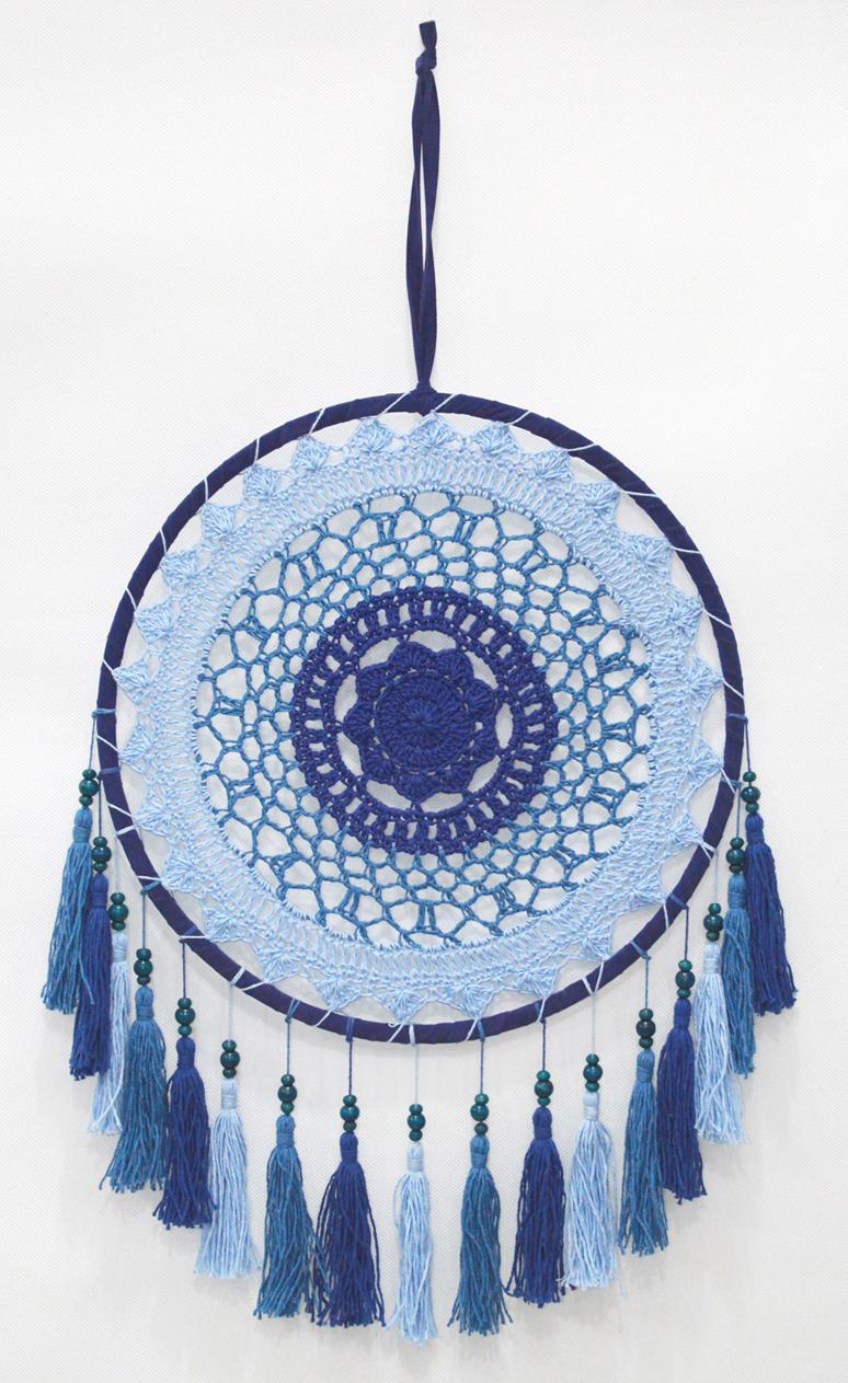 Dreamcatcher Blue Crochet