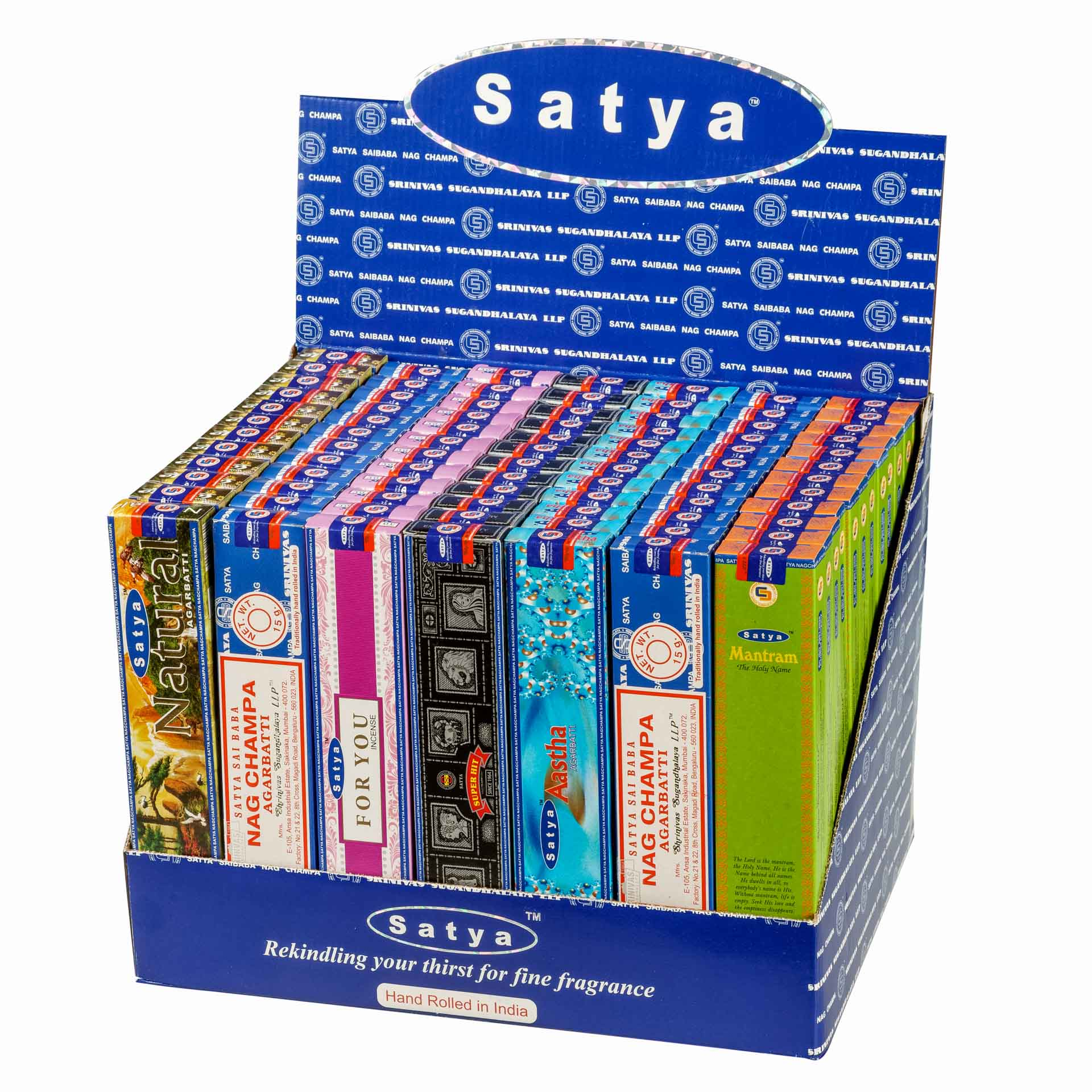 Satya Popular Series display