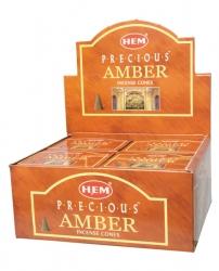 Hem Precious Amber cones