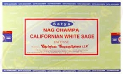 Satya Calif White Sage 12x15g - Click for more info