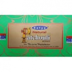 Satya Natural Patchouli 12x15g - Click for more info