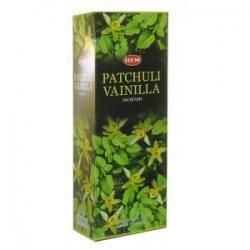 Hem Patchouli Vanilla, 6 x 20g
