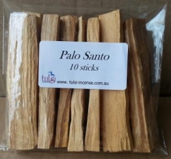 Peruvian Palo Santo stick 10pk - Click for more info