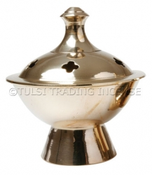 Brass Burner for Charcoal - Click for more info