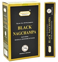 Anand Black Nag Champa 15g - Click for more info