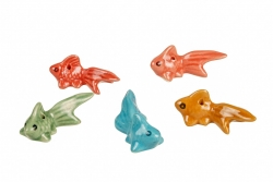 Ceramic Goldfish 6cm - Click for more info
