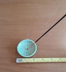 Ceramic 5cm holder, lime