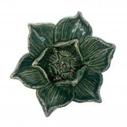 Ceramic Lotus holders (4clg - Green)