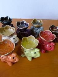 Ceramic Oil burner Eleph 12 cm - Click for more info