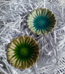 Ceramic Sunflower dish - Click for more info