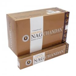 Golden Nag  Chandan 12 x 15g - Click for more info