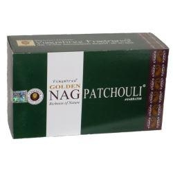 Golden Nag  Patchouli 12 x 15g - Click for more info