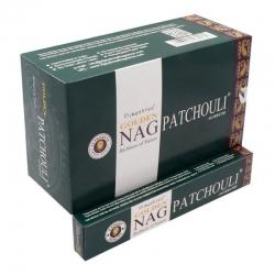Golden Nag  Patchouli 12 x 15g