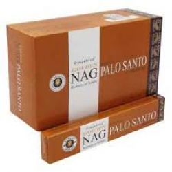 Golden Nag  Palo Santo 12x15g - Click for more info
