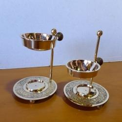 Oil Burner, brass adjustable 2 - Click for more info