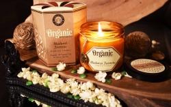 OrgGood Madurai Jasmine candle