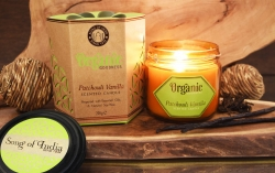OrgGood PatchouVanilla candle - Click for more info