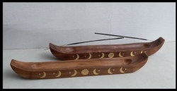 Wooden Ash Catcher, 35cm boat - Click for more info