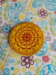 Wooden plate 10cm