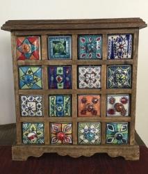 Ceramic 16 drawer