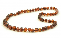 25% DISC necklace Cognac 45cm