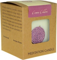 Chakra candle - Crown - Click for more info