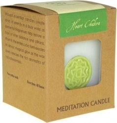 Chakra candle - Heart - Click for more info