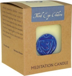 Chakra candle - Third Eye - Click for more info