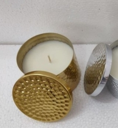 80mm Soy Candle Gold  Cinnamon