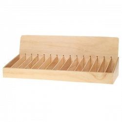 Wooden Display for incense pkt