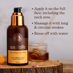 SoulTree Indian Rose face wash
