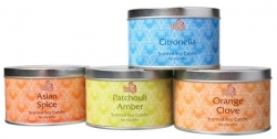 Travel Tin candles, soy wax