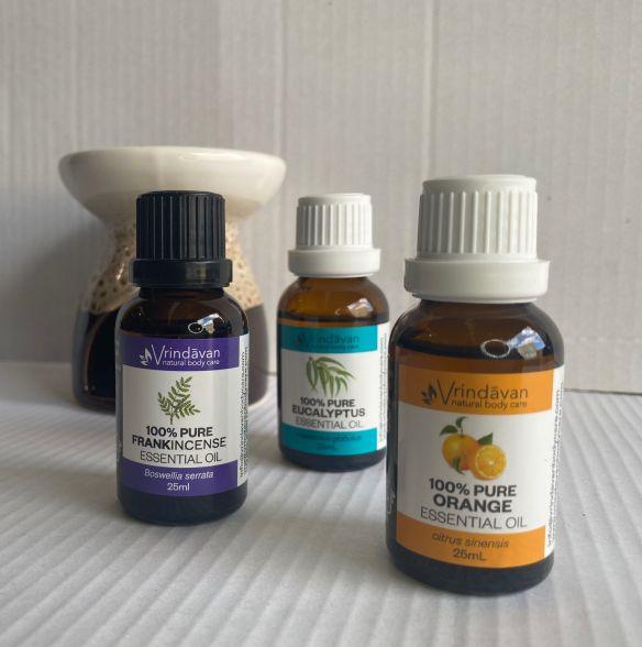 Vrindavan Essential Oils, 25mL